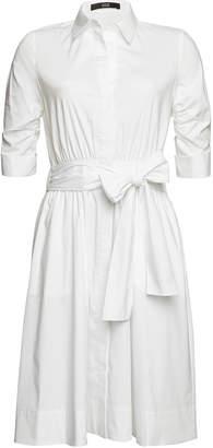 Steffen Schraut Belted Shirt Dress with Cotton