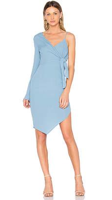 Elliatt Rapture Mono Sleeve Dress