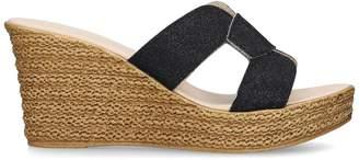 Carvela Stacie Espadrille Wedge Sandals