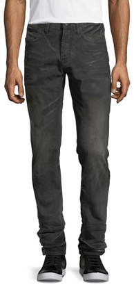 PRPS Faded & Whiskered Denim Slim-Straight Jeans
