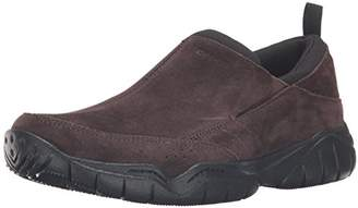 Crocs Men's Swiftwater Leather Moc Flat