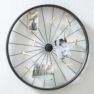 DAY Birger et Mikkelsen Trent Austin Design Millanocket Metal Wheel Photo Holder Wall Decor