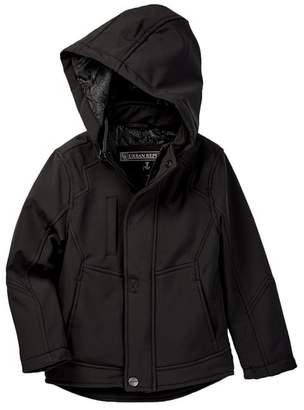 Urban Republic Zip Off Hood Soft Shell Coat (Toddler & Little Boys)