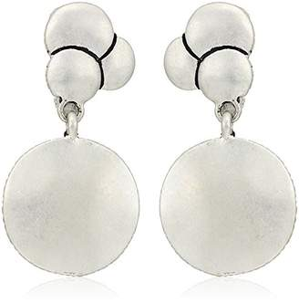 The Sak Layered Double Drop Clip-On Earrings