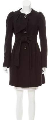 Hanii Y Wool Knee-Length Coat
