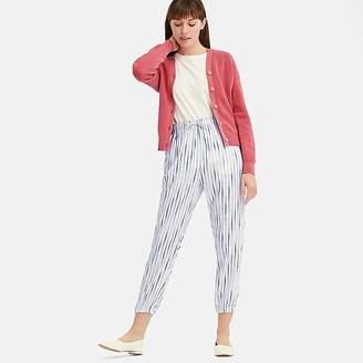 Uniqlo Women's Drape Stripe Jogger Pants