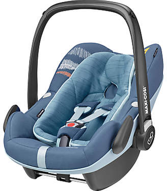 Maxi-Cosi Pebble Plus i-Size Group 0+ Baby Car Seat, Frequency Blue