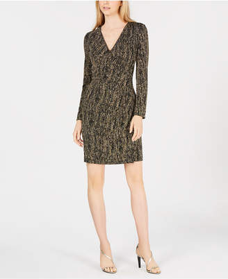 Calvin Klein Petite Metallic Sheath Dress