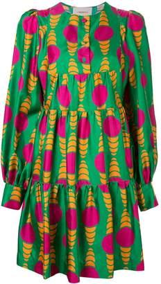 La DoubleJ printed mini tunic dress
