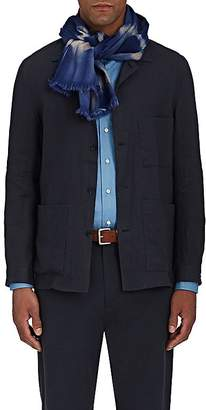 Colombo Men's Dyed Cashmere-Silk Scarf
