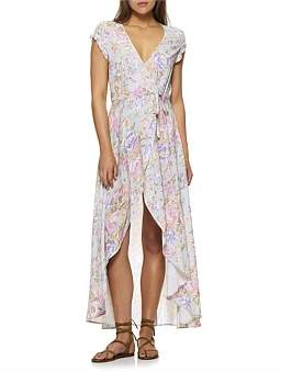 Auguste New Romance Petal Wrap Maxi Dress