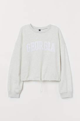 H&M Drawstring Sweatshirt