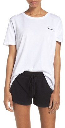 Women's Brunette The Label Blonde Lounge Tee $66 thestylecure.com