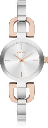 DKNY Reade Two Tone Stainless Steel Women's Watch