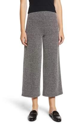 Chloe & Katie Knit Crop Flare Pants
