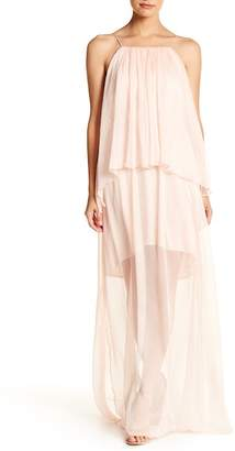 The Jetset Diaries TJD Lanza Woven Maxi Dress