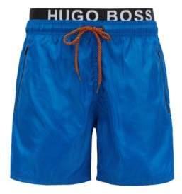 BOSS Hugo Lightweight swim shorts double waistband M Blue