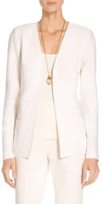 St. John Hannah Knit A-line Jacket