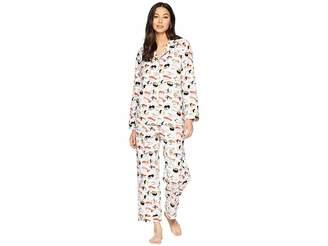 The Cat's Pajamas Sushi Flannel Pajama Set