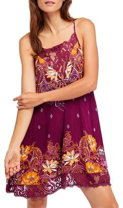 Free People Who's Sorry Now Print Slipdress