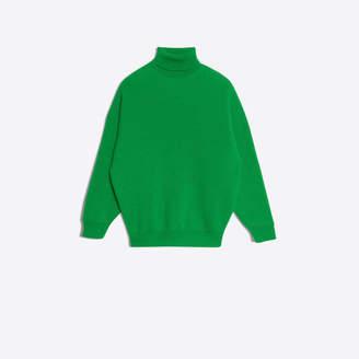 Balenciaga Wool jacquard sweater
