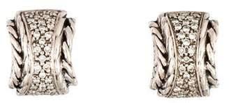 John Hardy Diamond Classic Chain Highway Earrings