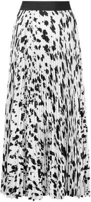 Ports 1961 pleated mid length skirt