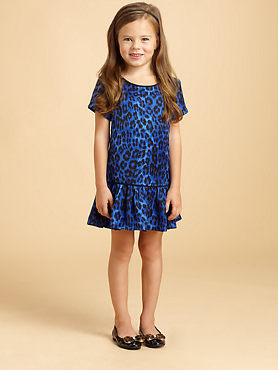 Juicy Couture Toddler's & Little Girl's Cheetah-Print Dress