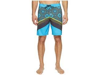 O'Neill Hyperfreak Abo-Geo Superfreak Series Boardshorts Men's Swimwear