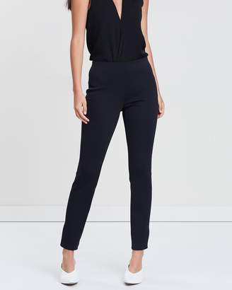 Theory Skinny Scuba Knit Leggings
