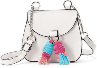 Candie's® Cici Flap Saddle Bag $30 thestylecure.com
