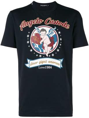 Dolce & Gabbana Angelo Custode print T-shirt
