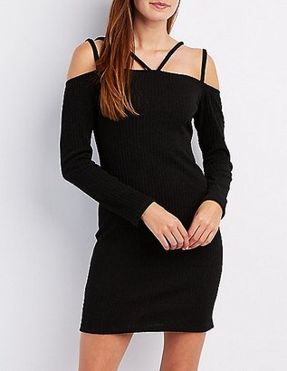 Strappy Off-The-Shoulder Dress $26.99 thestylecure.com