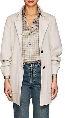 Giorgio Armani Women's Wool-Blend Babydoll Coat - Cream