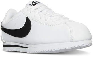 Nike Boys' Cortez Casual Sneakers from Finish Line $59.99 thestylecure.com