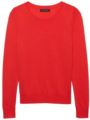 Banana Republic Washable Merino Crew-Neck Sweater