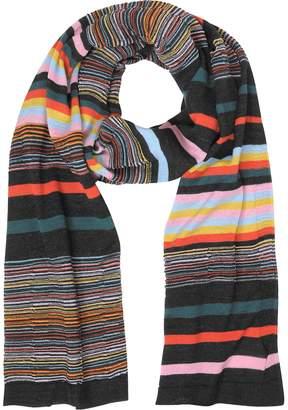 Missoni Striped Wool Blend Men's Long Scarf