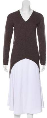 Brunello Cucinelli Cashmere High-Low Sweater