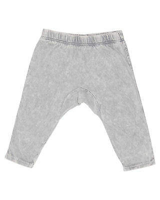 Munster New Kids Baby Boys Scratchy Pant Cotton Fitted Elastane Grey