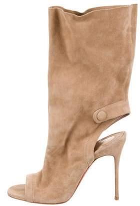 6e2e9e4c590 Christian Louboutin Peep Toe Boots For Women - ShopStyle Canada