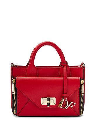 Micro Secret Agent Leather Crossbody Bag $178 thestylecure.com