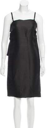Lanvin Silk Mini Dress w/ Tags