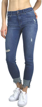 Tractr Blu Obsession Mid-rise Ankle Jean