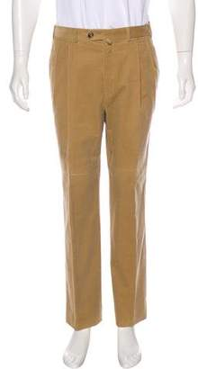 Loro Piana Pleated Corduroy Pants