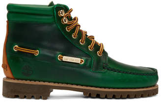 Timberland Aime Leon Dore Green Edition 7-Eye Lug Sole Boots