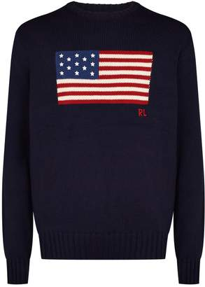 Polo Ralph Lauren American Flag Sweater
