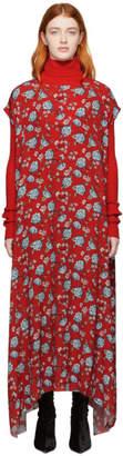Vetements Red Flowers Dress