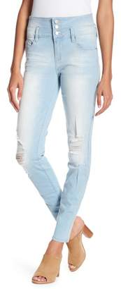 YMI Jeanswear Outerwear 3-Button High Rise Skinny Jeans