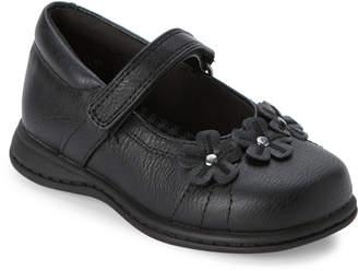 Rachel Toddler Girls) Black Lil Kelsey Floral-Applique Mary Jane Shoes