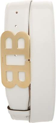 Bally Mirror Buckle Patent Leather Belt
